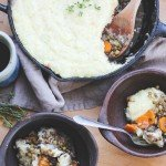 Sprouted Lentil Shepherd's Pie