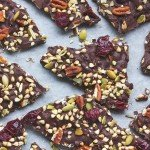 Sprouted Buckwheat Chocolate Bark