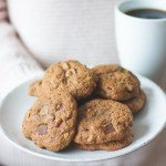 Sprouted Buckwheat Chocolate Chip Cookies