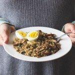 Savoury Sprouted Buckwheat Breakfast Bowl
